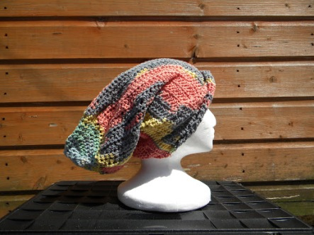 Long slouchy hat