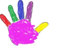 orange finger
