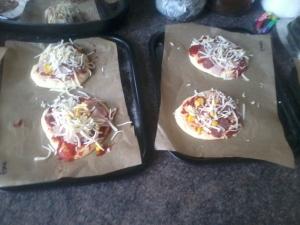 3 inch pizza